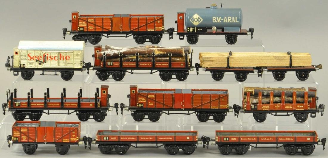 MARKLIN EUROPEAN FREIGHT WAGONS