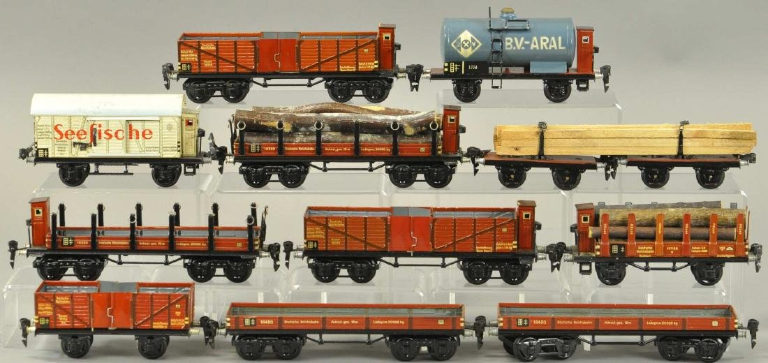 MARKLIN EUROPEAN FREIGHT WAGONS - 2