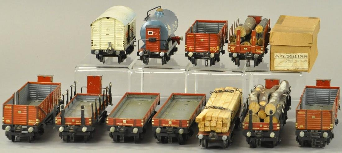 MARKLIN EUROPEAN FREIGHT WAGONS - 3