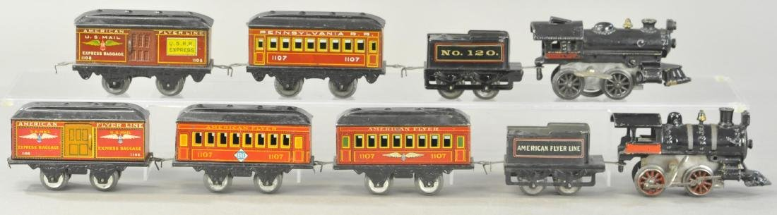 TWO AMERICAN FLYER PASSENGER SETS - 2