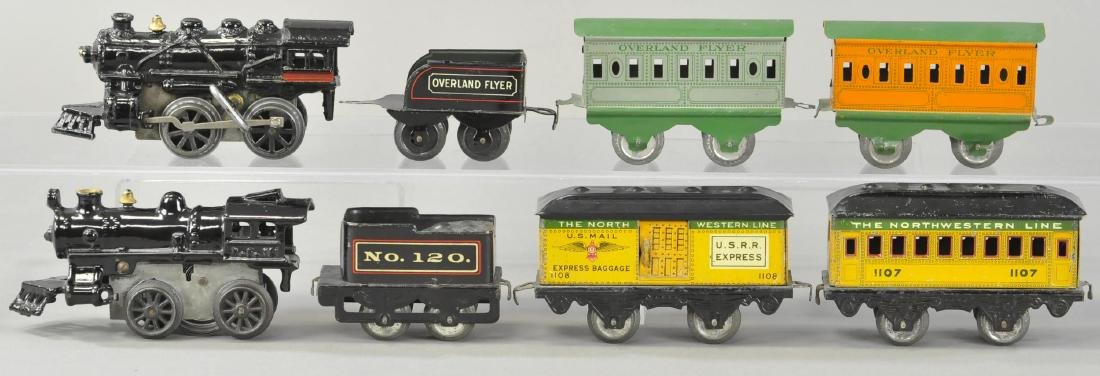 TWO WIND-UP AMERICAN FLYER PASSENGER SETS - 2