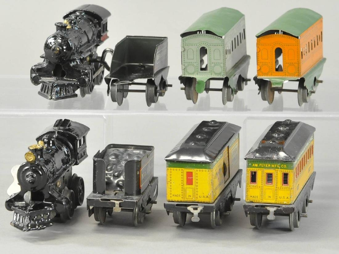 TWO WIND-UP AMERICAN FLYER PASSENGER SETS - 3