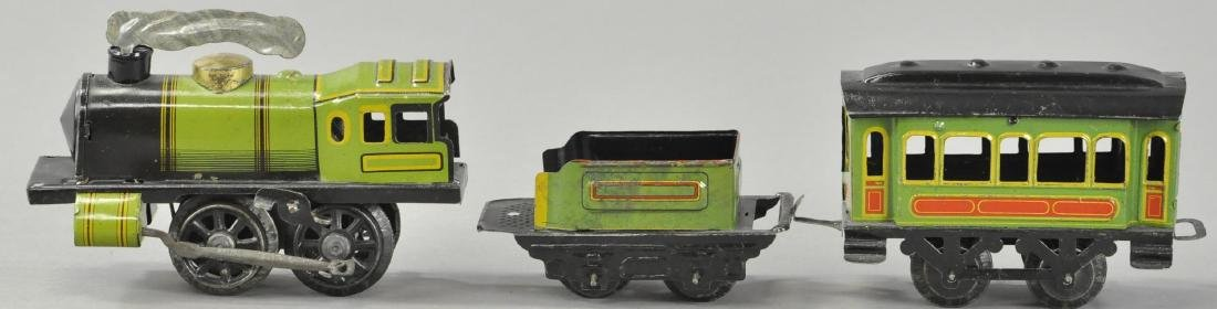 WIND-UP SCHUMANN PASSENGER TRAIN SET