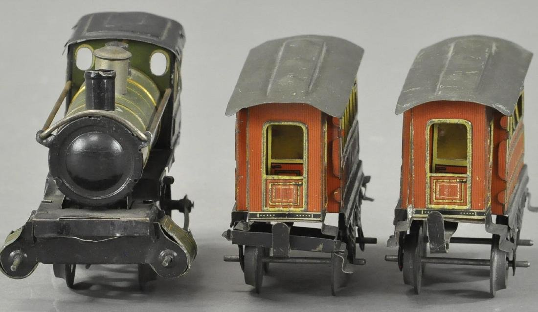 ISSMAYER LOCOMOTIVE AND PASSENGER CARS - 3
