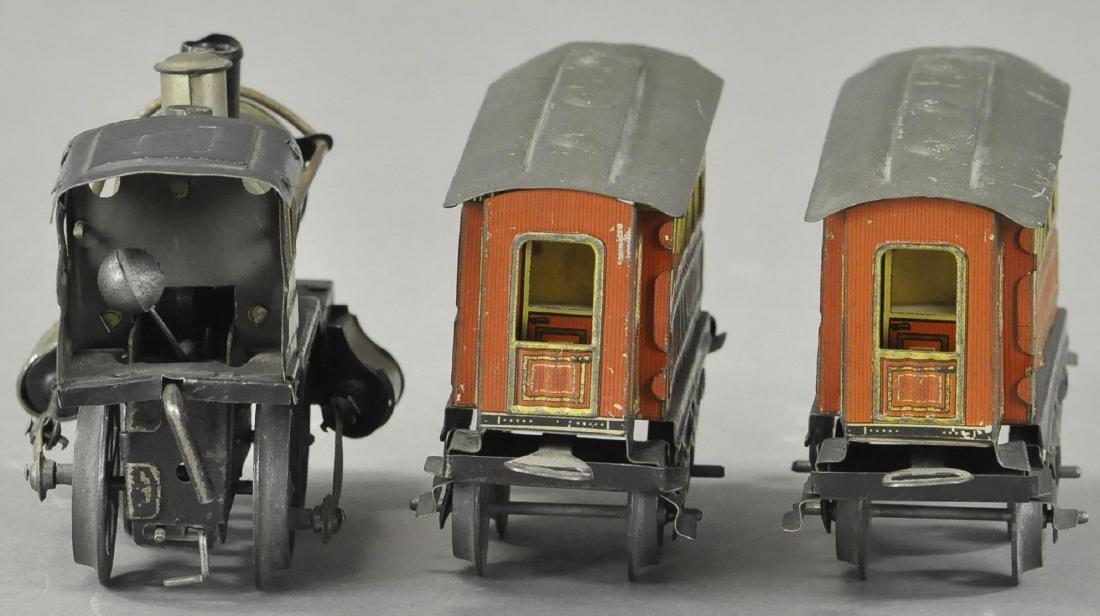 ISSMAYER LOCOMOTIVE AND PASSENGER CARS - 4