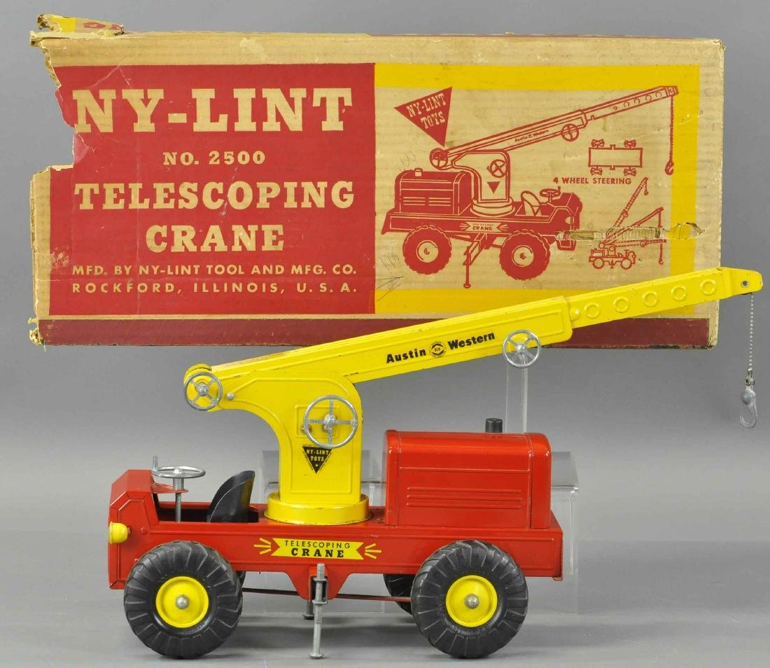 BOXED NY-LINT TELESCOPING CRANE