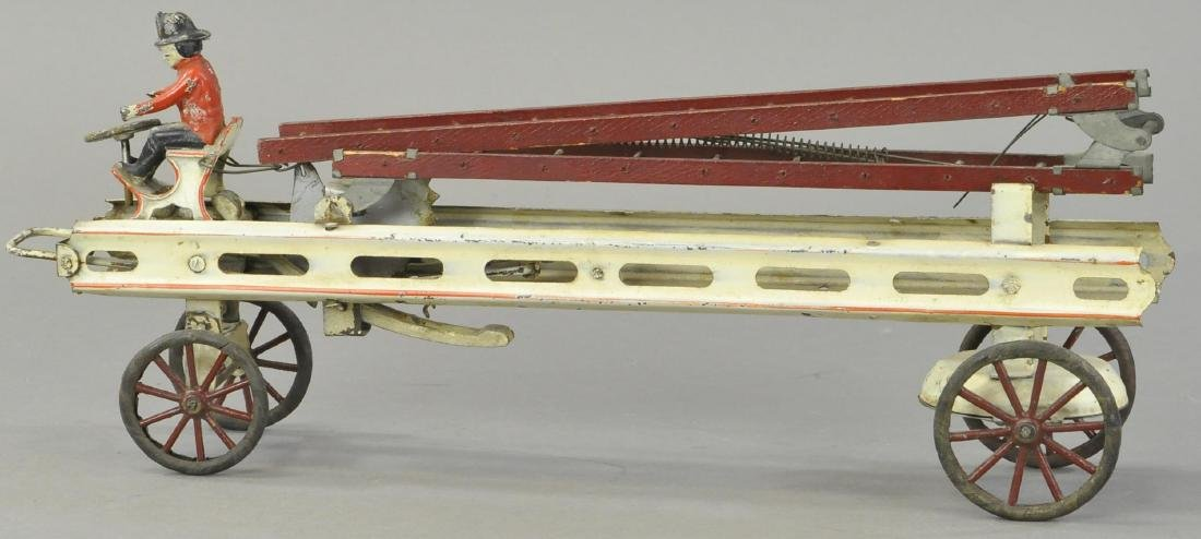 KINGSBURY FIRE LADDER TRUCK - 2