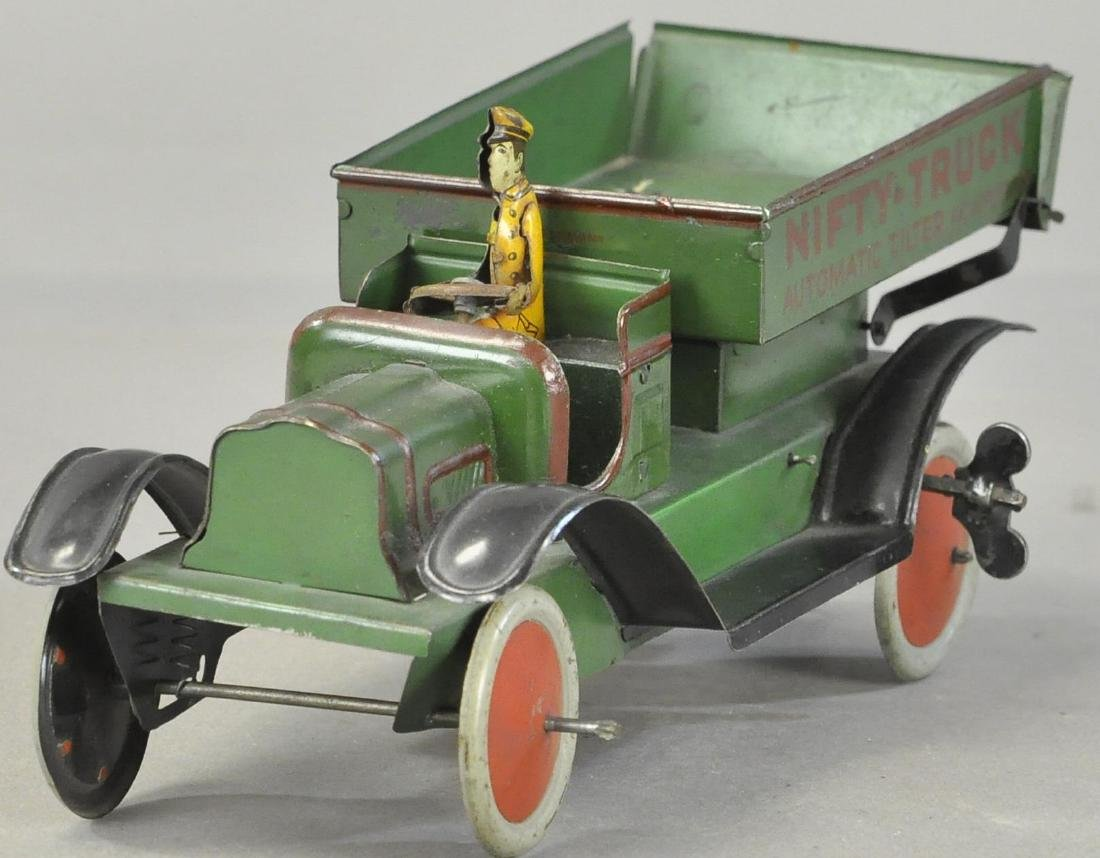 NIFTY TRUCK AUTOMATIC DUMP GREEN - 2