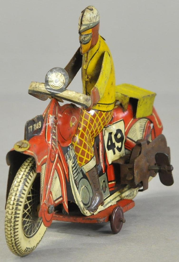 METTOY #49 CIVILIAN MOTORCYCLE - 2