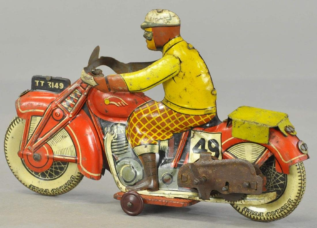 METTOY #49 CIVILIAN MOTORCYCLE - 3