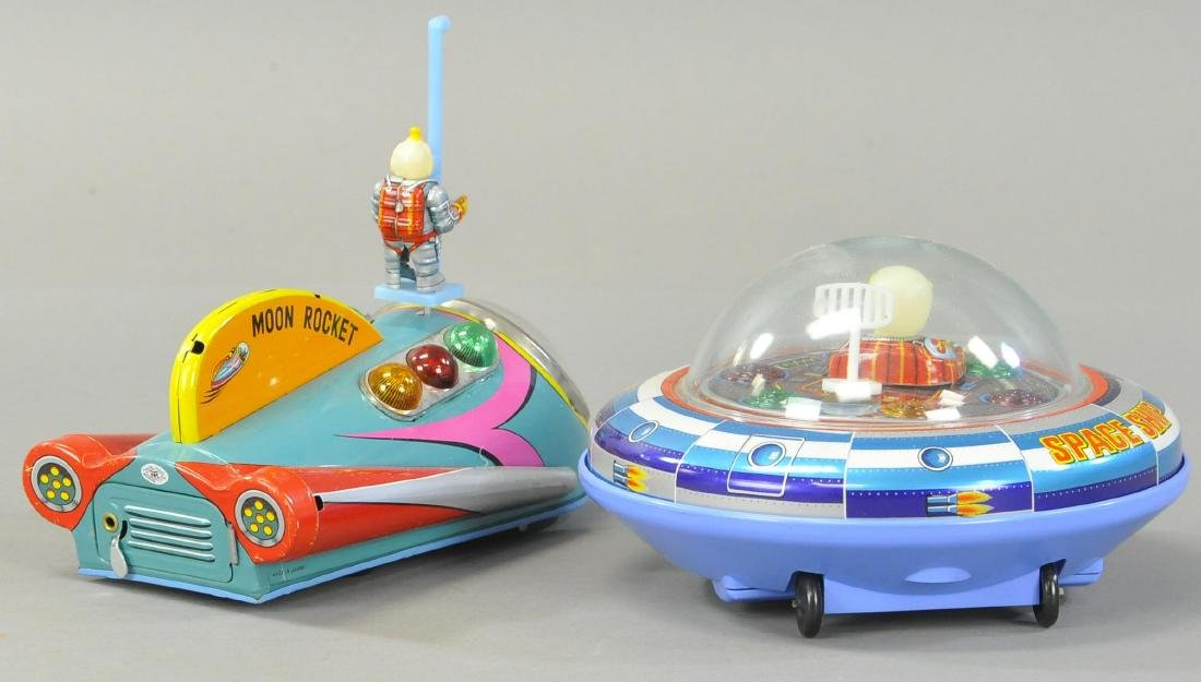 MODERN TOYS MOON ROCKET AND SPACE SHIP X-5 - 3