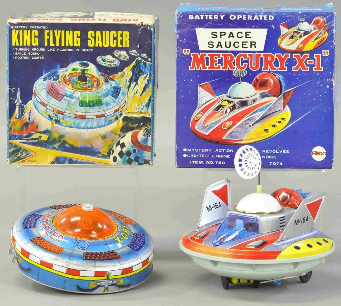 """KO KING FLYING SAUCER & YONEZAWA """" MERCURY X-1"""""""