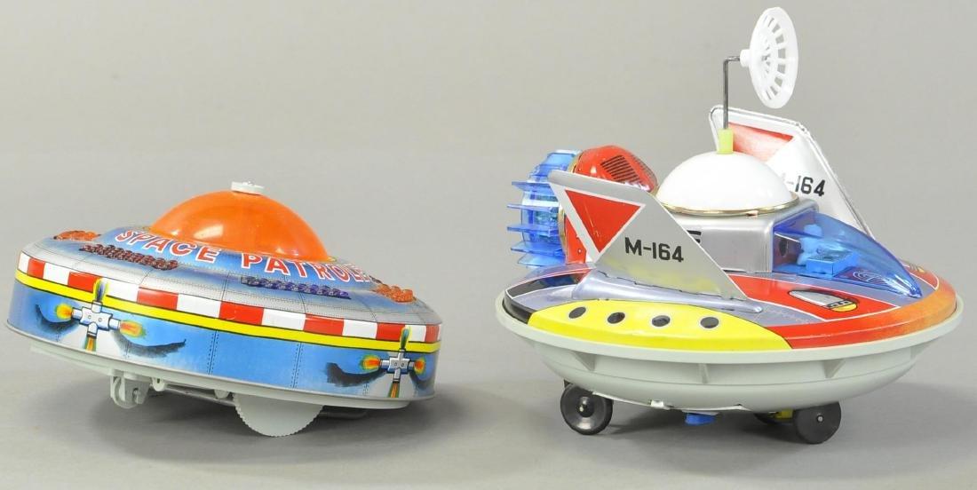 """KO KING FLYING SAUCER & YONEZAWA """" MERCURY X-1"""" - 2"""