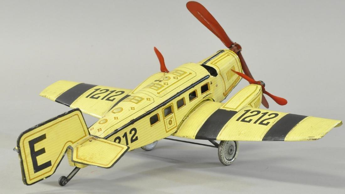 GUNTHERMANN TRI-MOTOR AIRPLANE