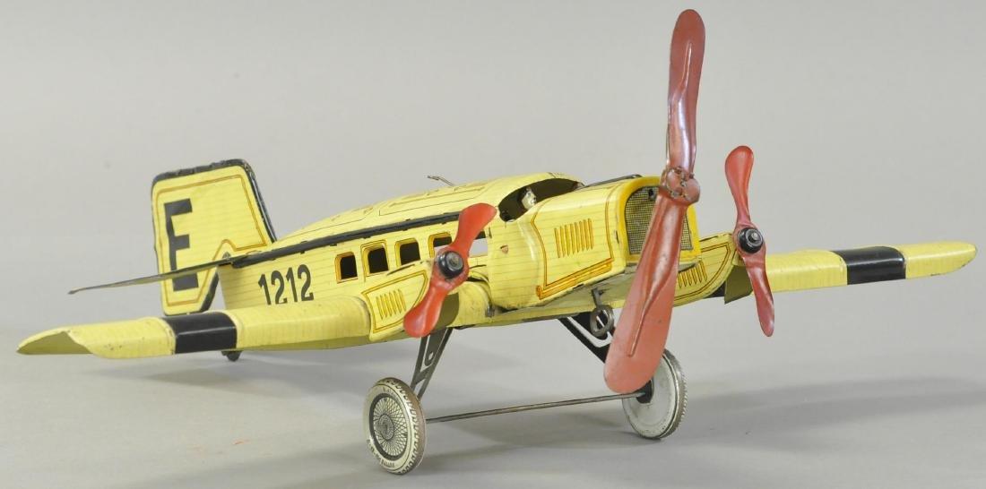 GUNTHERMANN TRI-MOTOR AIRPLANE - 3