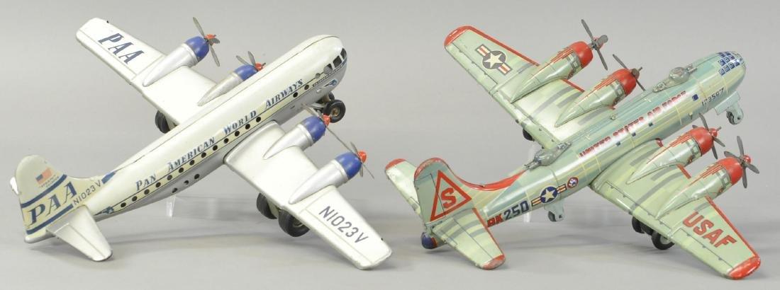 PAIR OF JAPANESE QUAD MOTOR AIRPLANES