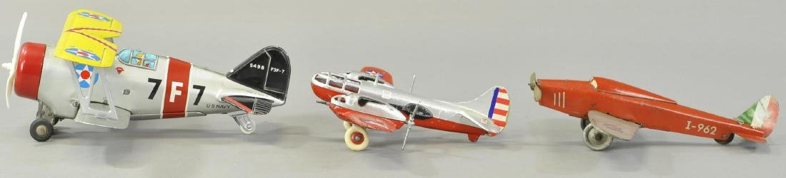 LOT OF THREE AIRPLANES - HUBLEY/CRAGSTAN - 2