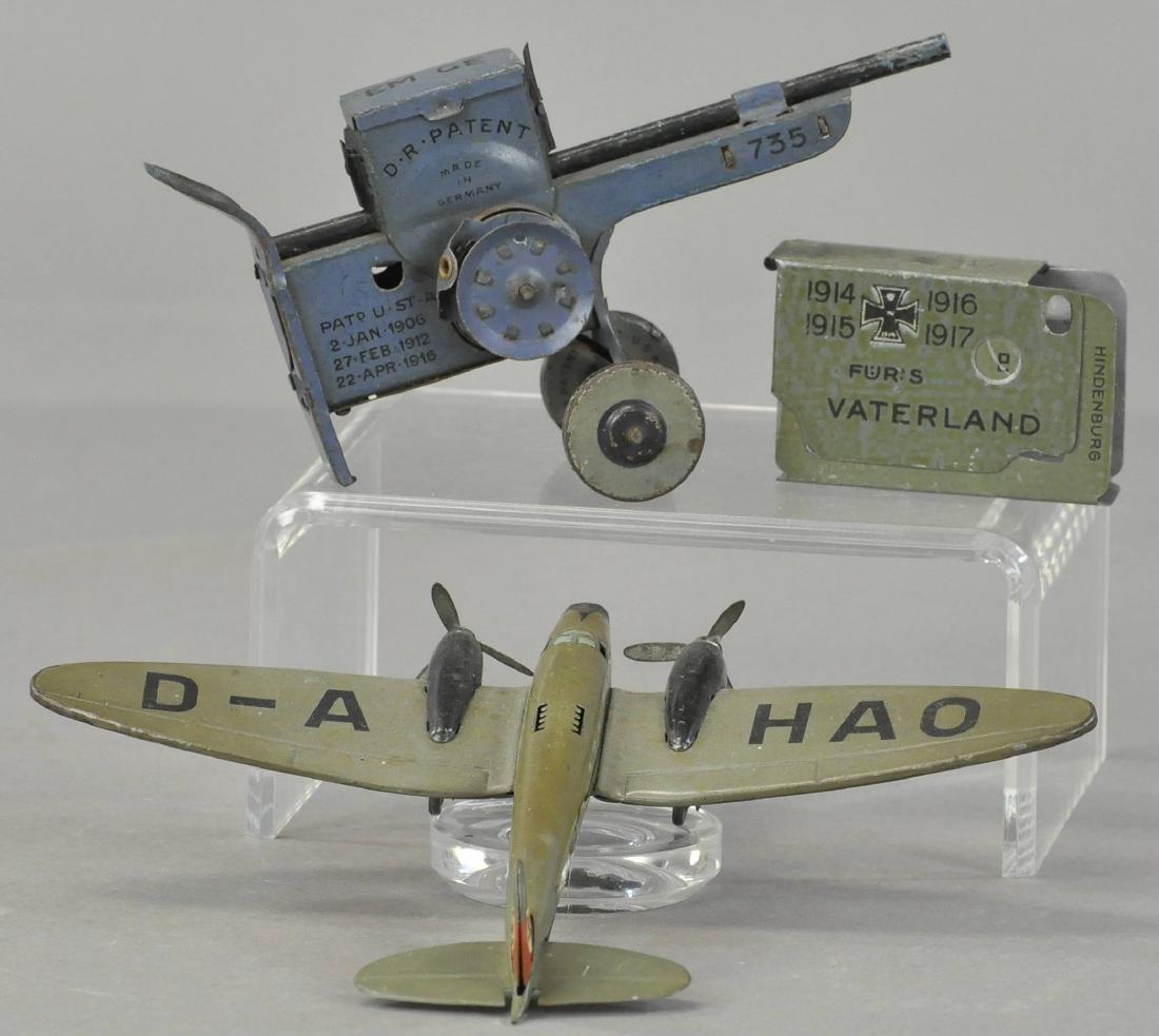 LEHMANN BOMBER PLANE AND MACHINE GUN - 2