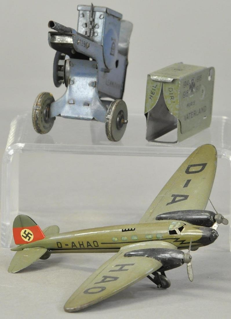 LEHMANN BOMBER PLANE AND MACHINE GUN - 3