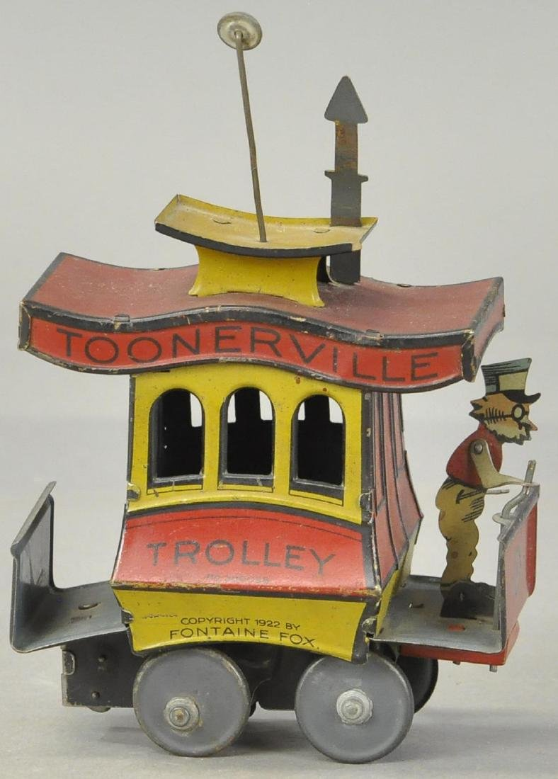 FONTAINE FOX TOONERVILLE TROLLEY