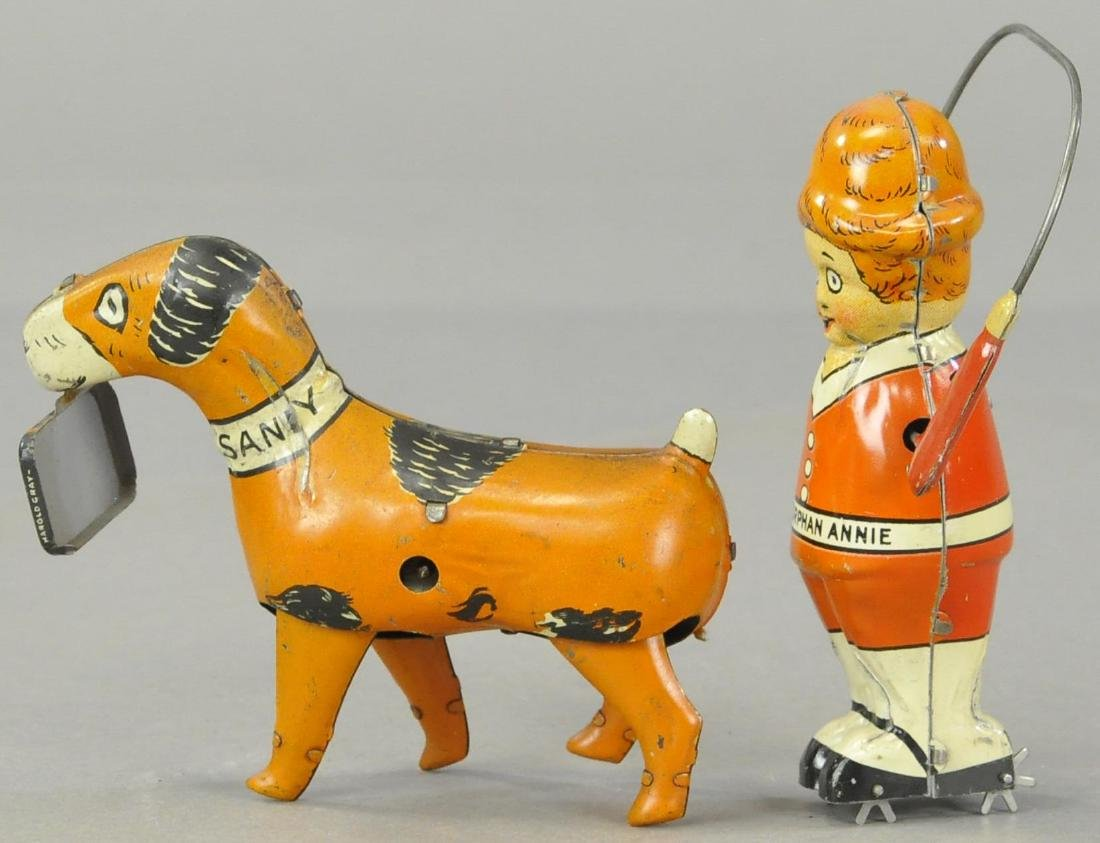 PAIR OF SANDY AND ORPHAN ANDY TOYS - 3