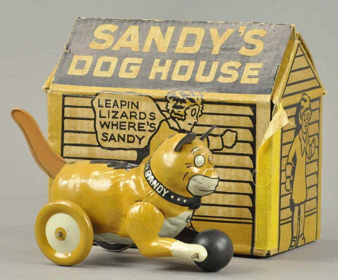 LOUIS MARX SANDY W/ HOUSE