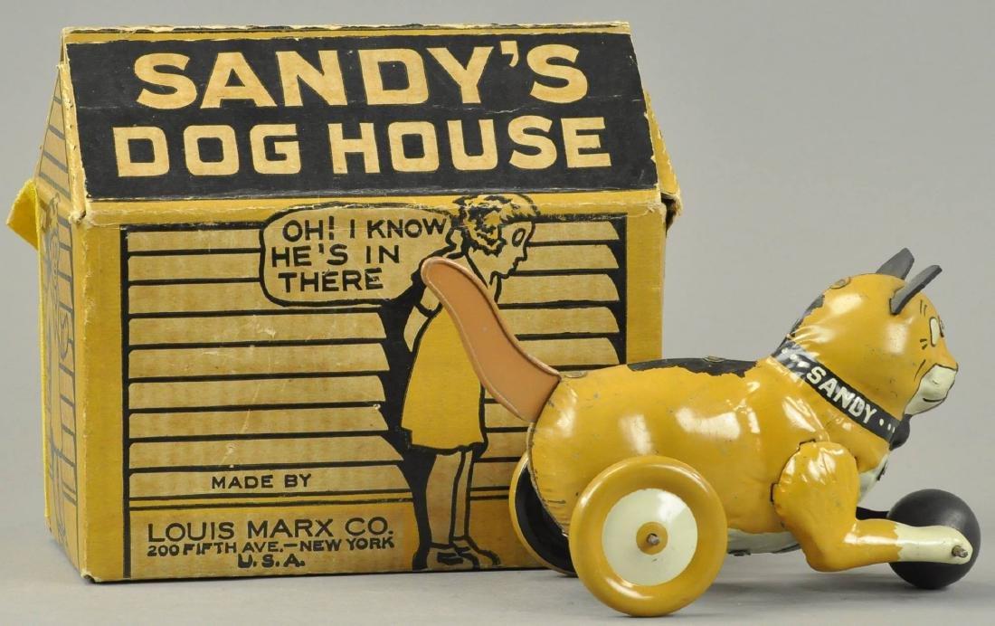 LOUIS MARX SANDY W/ HOUSE - 4
