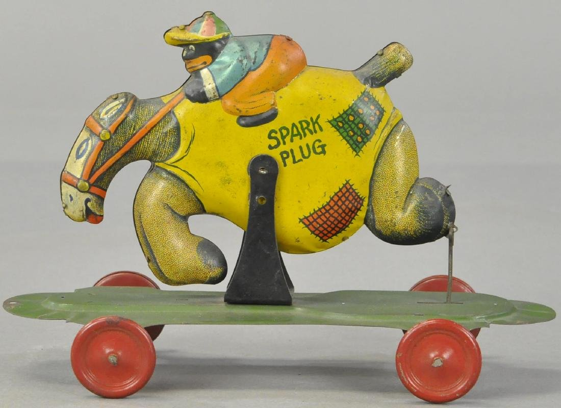 SUNSHINE RIDING SPARK PLUG PLATFORM TOY
