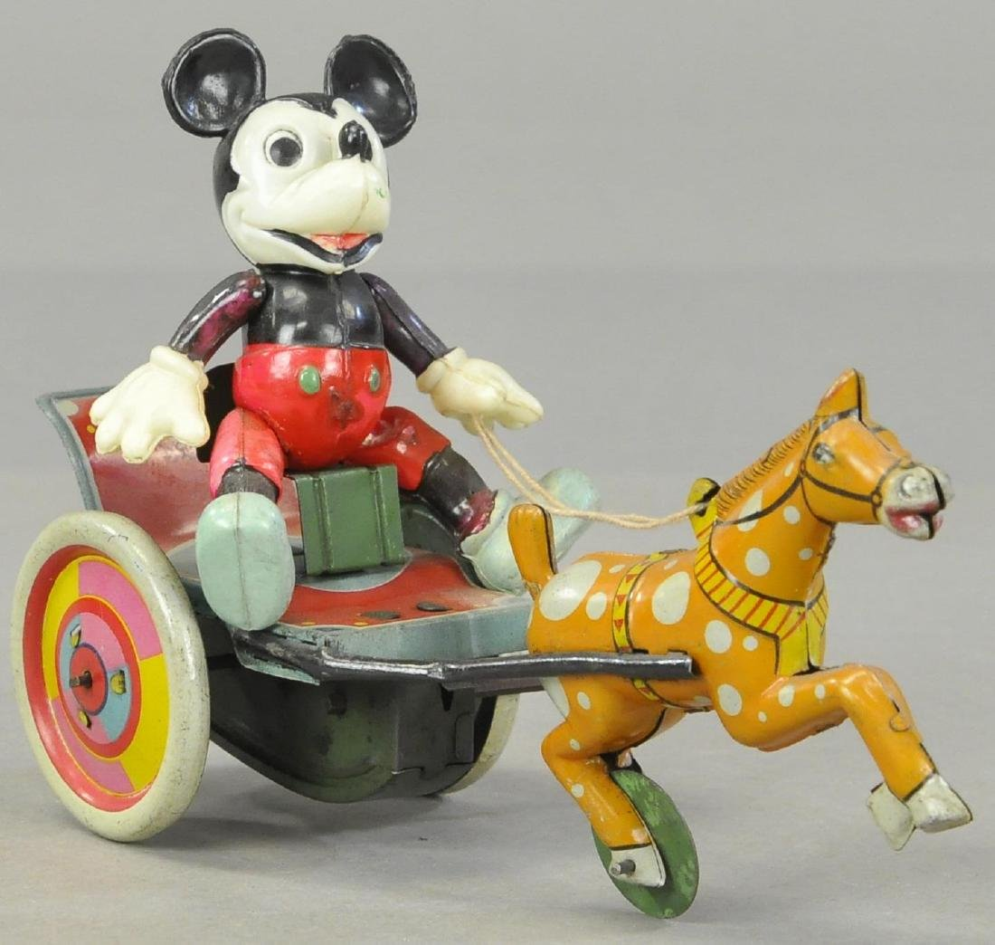 CELLULOID MICKEY IN HORSE CART