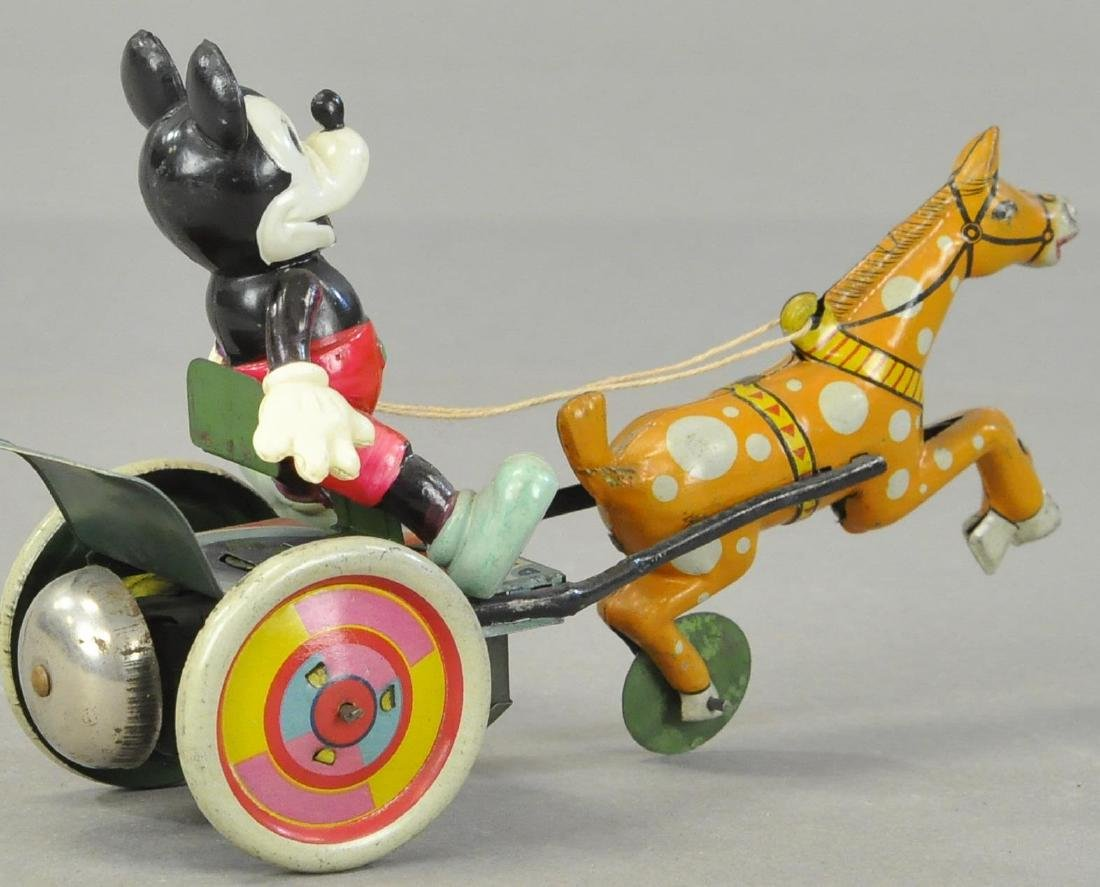 CELLULOID MICKEY IN HORSE CART - 2