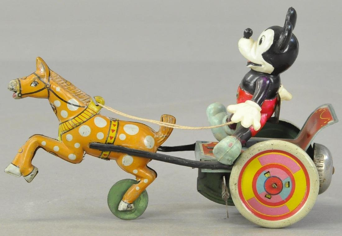 CELLULOID MICKEY IN HORSE CART - 3
