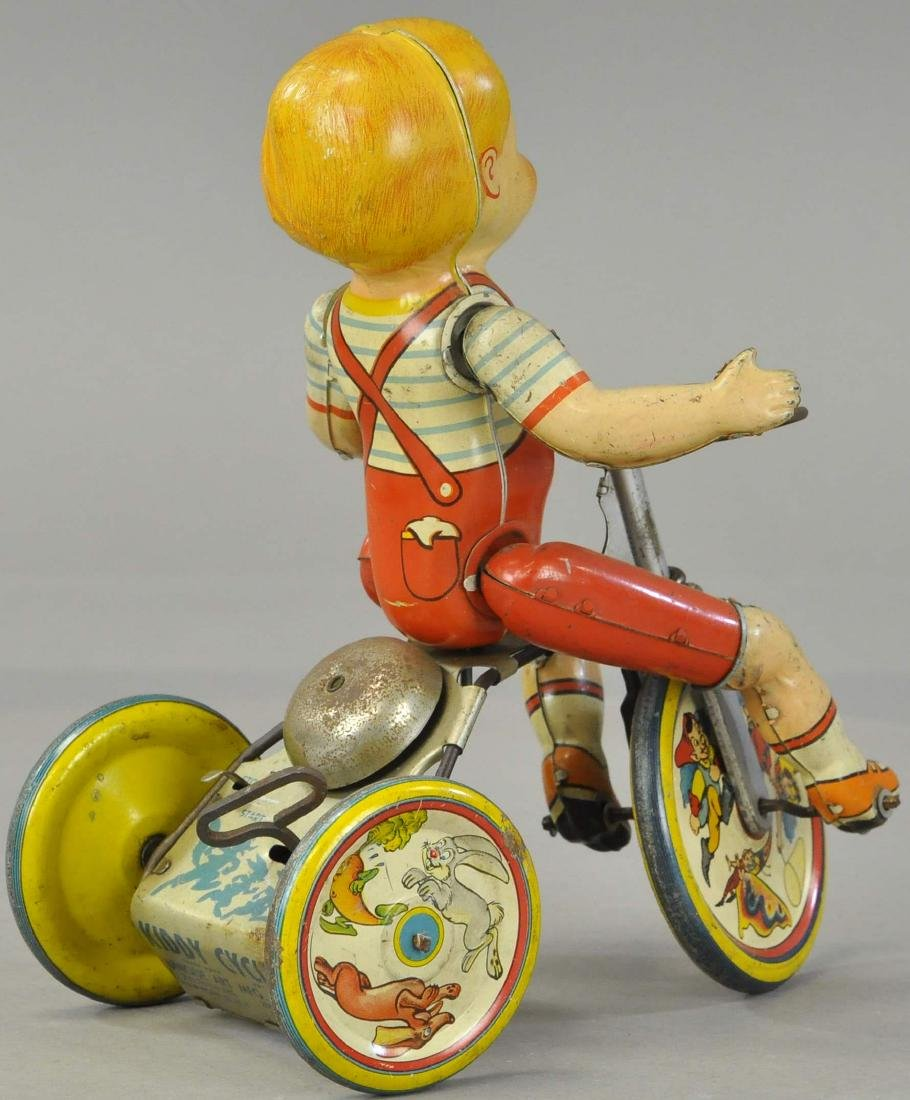 UNIQUE ART KIDDY CYCLIST - 2