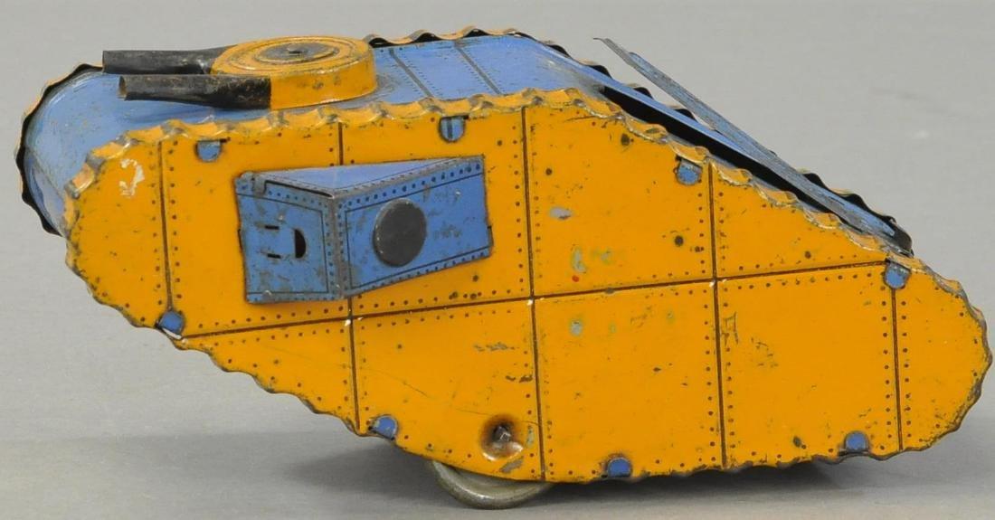 MARX ROLLING ARMY TANK - 3