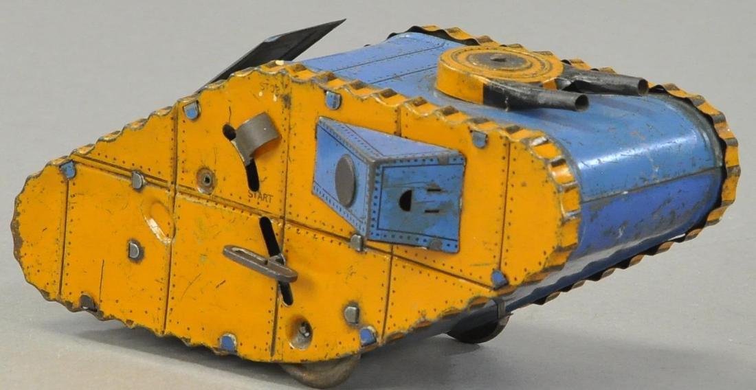 MARX ROLLING ARMY TANK - 4