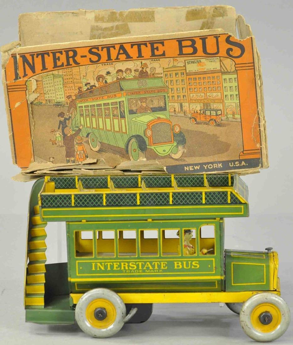 BOXED STRAUSS INTERSTATE BUS - GREEN VERSION
