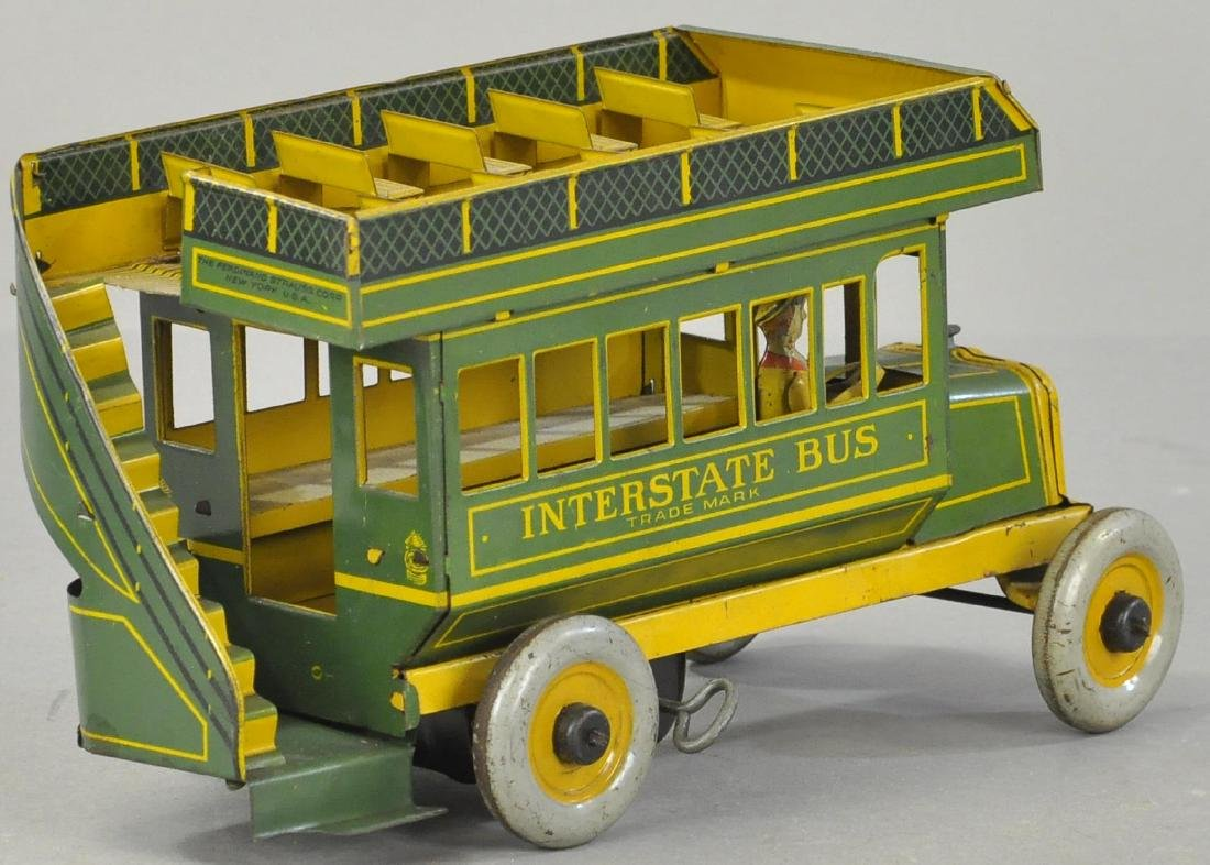 BOXED STRAUSS INTERSTATE BUS - GREEN VERSION - 3