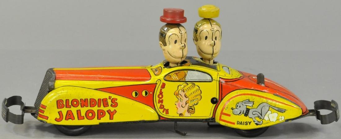 MARX BLONDIE'S JALOPY CAR