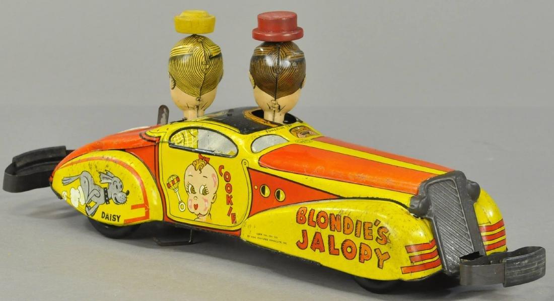 MARX BLONDIE'S JALOPY CAR - 2