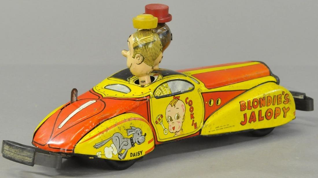 MARX BLONDIE'S JALOPY CAR - 3