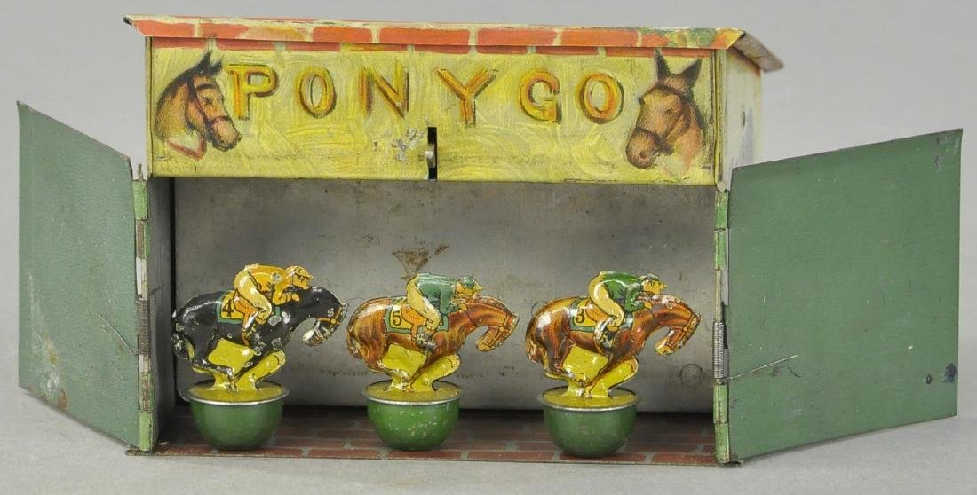 PONY GO HORSE RACE GAME W/ PARTIAL BOX