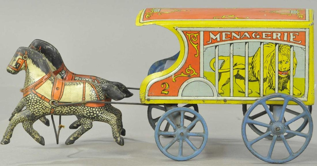 CONVERSE MENAGERIE HORSE DRAWN WAGON