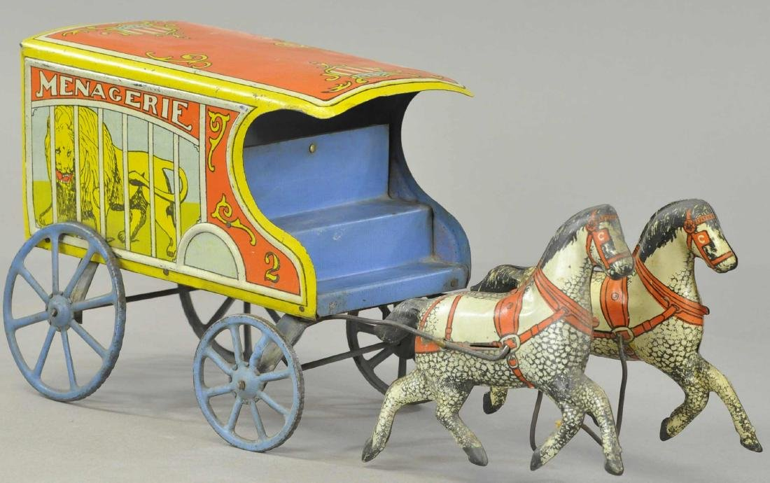 CONVERSE MENAGERIE HORSE DRAWN WAGON - 2