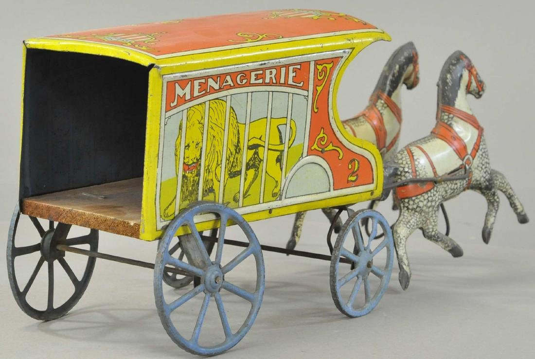 CONVERSE MENAGERIE HORSE DRAWN WAGON - 3