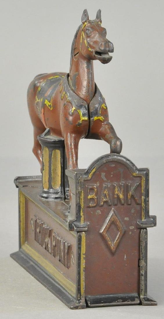 TRICK PONY MECHANICAL BANK - 4