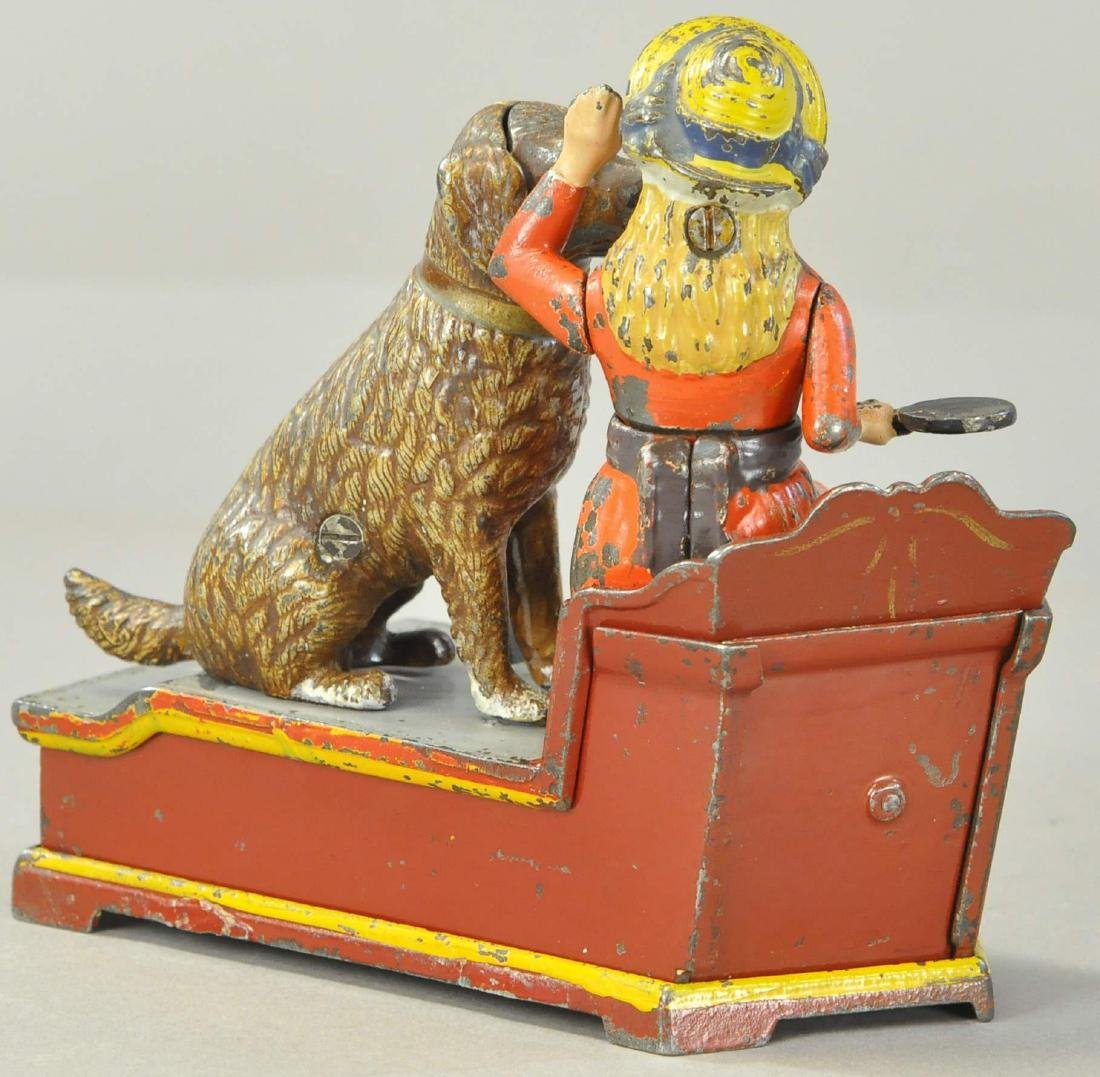 SPEAKING DOG MECHANICAL BANK - SHEPPARD HRDW - 3