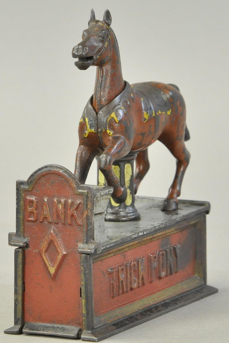 TRICK PONY MECHANICAL BANK - 2