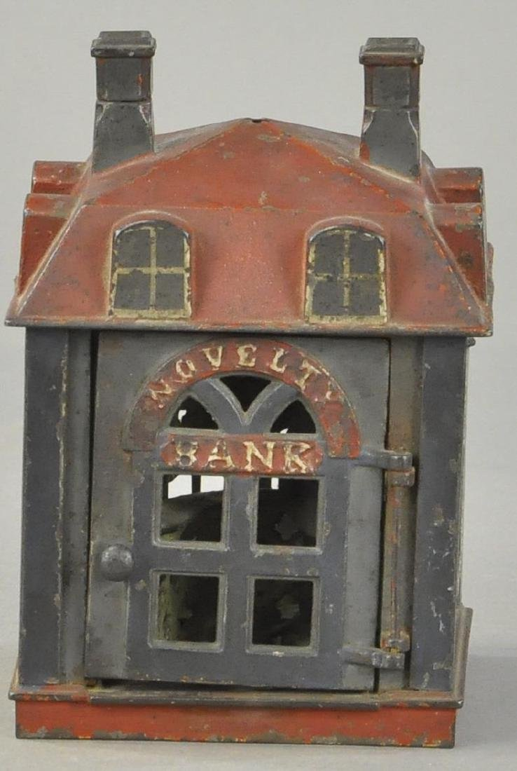 NOVELTY BANK MECHANICAL BANK