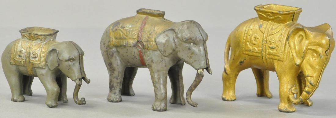 THREE ELEPHANT STILL BANKS