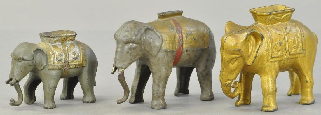 THREE ELEPHANT STILL BANKS - 2