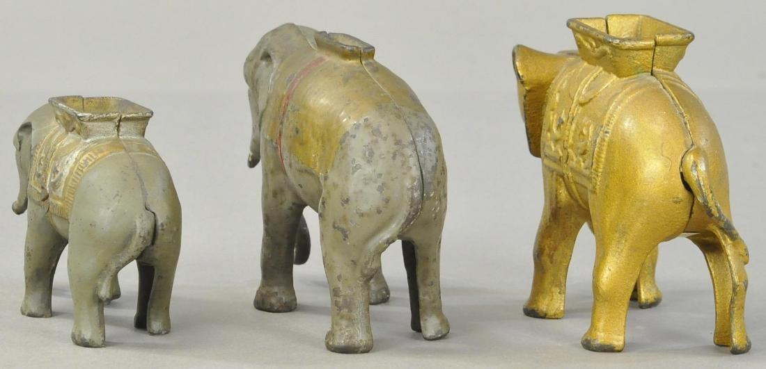 THREE ELEPHANT STILL BANKS - 3